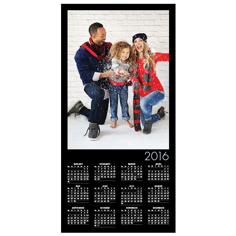 Folding Long Calendar