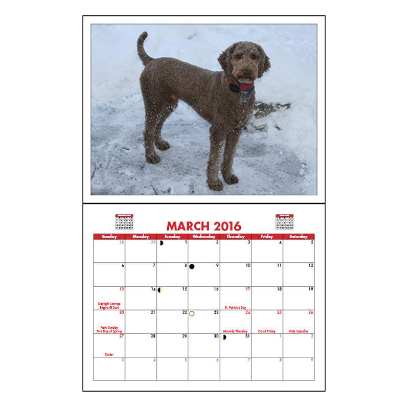 Fold Over Calendars